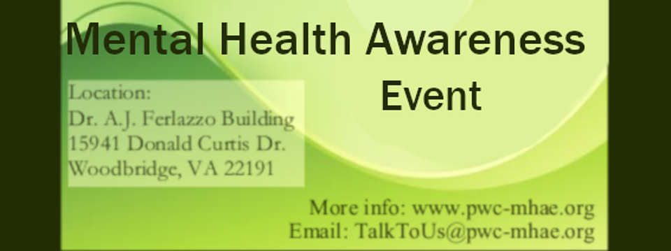 Prince William County Mental Health Awareness Event